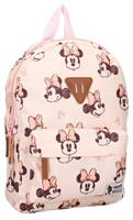 Disney rugzak Minnie Mouse Rocking It 9 L polyester beige/roze