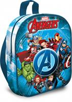Marvel schooltas The Avengers junior 7,2 liter polyester blauw