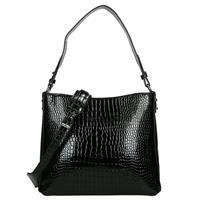 Hvisk Amble Croco buideltas black