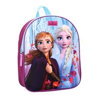 Disney rugzak Frozen II meisjes 9 liter polyester blauw/paars