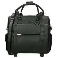 Claudio Ferrici Olivia Lauren Electra laptop trolley black
