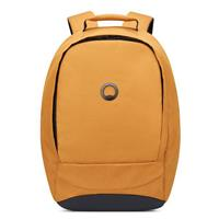 Delsey Securban 1-Compartment Laptop Backpack 13.3 Brown/ Yellow