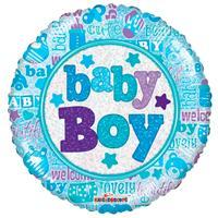 DeBallonnensite Little Baby Boy ballon