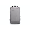 Kingsons Anti Theft Backpack Smart USB Series for up to 15.6 inch Laptop Light Grey