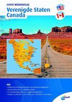 ANWB wegenatlas: Verenigde Staten/ Canada