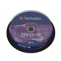 DVD+R 4,7 GB Matt Silver