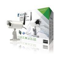 König HD SAS-IPCAM116 IP-Camera Buiten 720P Metaal