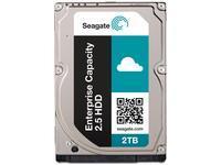 Seagate Enterprise vermogen 2 . 5 2 TB harde schijf SED 512 Emulation 7200 rpm 128 MB 2 , 5 inch SAS 12 Gb/s 24 x 7 long term usage ST2000NX0343