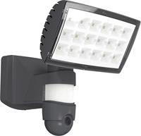 Lutec Peri Cam - Led buitenwandlamp met camera en sensor