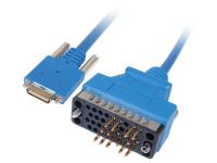 Cisco Routerkabel 3.0m, m/m (blauw)