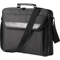 """Trust Atlanta Carry Bag for Laptops up to 17.3"""" and Peripherals Adjustable Shoulder Strap Polyester Black 21081"""