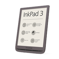 pocketbook INKPAD 3 eBook-Reader 19.8cm (7.8 Zoll) Dunkelbraun
