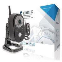 könig 2,4 GHz Draadloze Camera Binnen VGA Zwart -