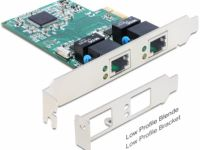delock Gigabit PCI-Express kaart - 2x RJ45