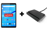"""lenovo Smart Tab M8 ZA5C - Tablet - Android 9.0 (Pie) - 32 GB Embedded Multi-Chip Package - 8"""" IPS (1280 x 800) - microSD sleuf - ijzergrijs"""
