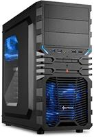 AMD Ryzen 5 3400G Game Computer / Gaming PC BLAUW - 8GB RAM/120GB SSD/1TB HDD - RX Vega 11 - Windows 10