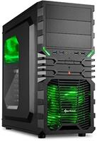 AMD Ryzen 5 3400G Game Computer / Gaming PC GROEN - 8GB RAM/120GB SSD/1TB HDD - RX Vega 11 - Windows 10