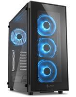 AMD Ryzen 5 2600 Allround Game Computer / Streaming PC - RX 580 8GB - 8GB RAM - 240GB SSD - 1TB HDD - TG5
