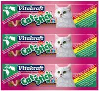 Cat-Stick Mini Eend & Konijn 3st Kattensnacks