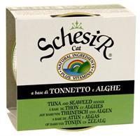 Schesir 14x85g kat tonijn/zeewier