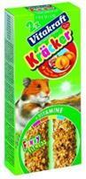 Hamster Fruitkracker 2in1 Knaagdiersnacks
