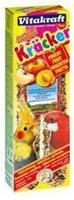 Kräcker Valkparkiet Fruit 2x Vogelsnacks