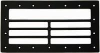 Voorzetrooster voor wandskimmer - 36 x 19,5 cm