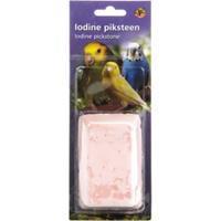 Piksteen - vogel verzorgen - 10 x 6 x 3 cm - Roze - 1stuk