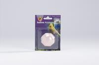 Piksteen - vogel verzorgen - 5x5x3 cm - Roze