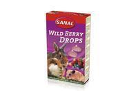 Wild Berry Drops - Knaagdiersnack - 45 g