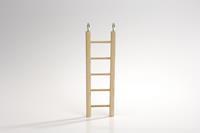 Houten Ladder 4 treden 20 cm