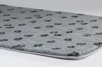 Voetprint - Vetbed - Grijs - 49x36cm