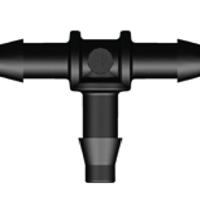 Koppelstukken voor 4 mm luchtslang - T-stuk