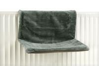 Sleepy - Radiatorhangmat - Pluche - Groen - 46x31x24CM