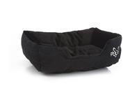 Baboo - Kattenmand - Pluche - Zwart - 48x37x18cm