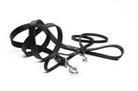 Geniet - Looplijnen - Zwart - 200 X 16 CM