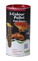 Velda 3-Colour Pellet Food 1250 Ml / 470 Gram