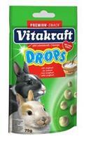 Yoghurtdrops Dwergkonijn 75g Knaagdiersnacks