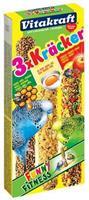 Kräcker Parkiet Honing/Fruit/Ei Vogelsnacks