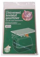 Kattenbak Koolstof Geurfilter 30x20cm Kattenbak