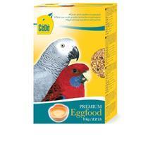 Eivoer grote parkiet/papegaai 1 kg