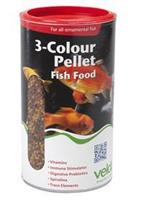 Velda 3-Colour Pellet Food 880 g-2500 ml