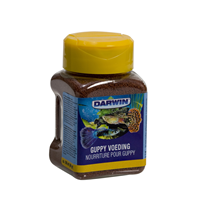 Darwin Guppy Voeding - Vissenvoer - 100 ml