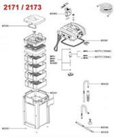 Eheim Pomprad 2071 - Pomponderdeel - per stuk