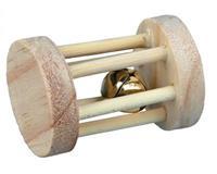 Speelrol Met Bel 5 cm Knaagdier speelgoed