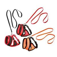 Karlie Cat Harness and Leash Harms L: 38 cm Size L Red-Black 1031369