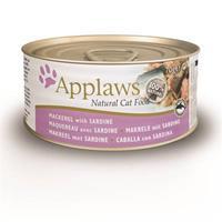 Blik Cat Jelly 70 gram MACKEREL & SEABREAM Kattenvoer