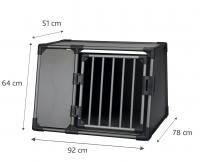 Transportbox / Autobench Grijs 78x92x64cm