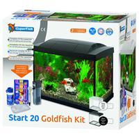 Aquarium Start 20 Goldfish Kit Led 20 l - Aquaria - Zwart