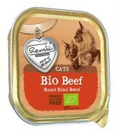 Kat Biologisch Vers Vlees - Rund - 19 x 85 gram